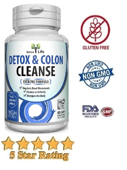 Colon Cleanse Detoxifying Formula