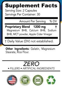 Keto Advanced Weight Loss 1200 Ingredients