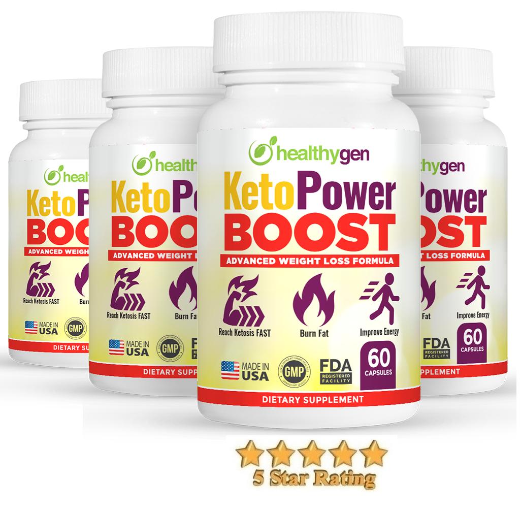 Keto Power Boost - Get 2 Free Bottles