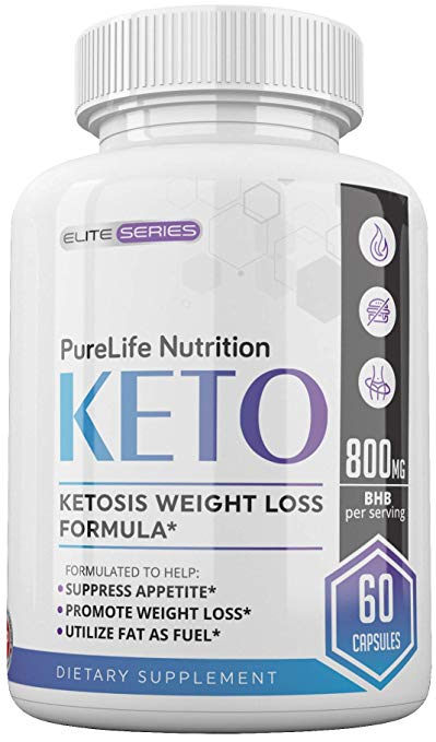 Pure Life Keto Advanced Ketogenic Weight Loss Support