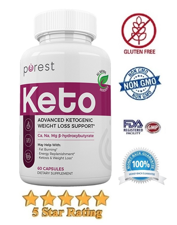 Purest Keto Advanced Ketogenic Weight Loss Support