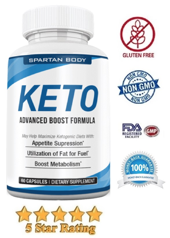 Spartan Body Keto Advanced Boost Formula